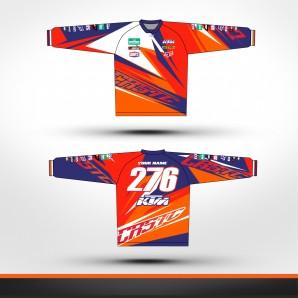 KTM Custom Line Racing jersey