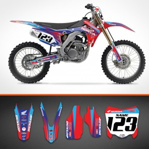 Honda Razor backgrounds kit