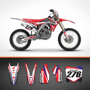 Honda Custom Line backgrounds kit