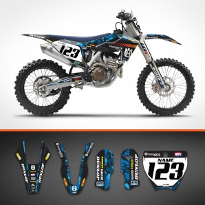 Husqvarna Camo backgrounds kit
