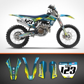Husqvarna Razor backgrounds kit