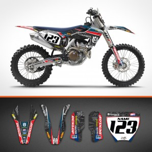 Husqvarna Stickerbomb backgrounds kit