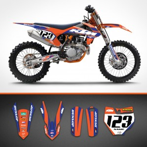KTM Bicolor backgrounds kit
