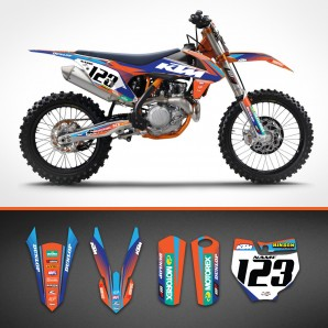 KTM Razor backgrounds kit