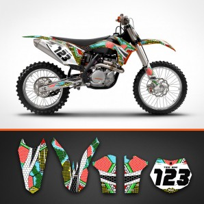 KTM nanotech backgrounds kit