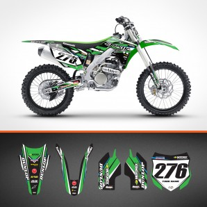 Kawasaki Custom Line backgrounds kit