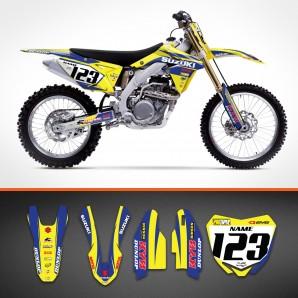 Suzuki Bicolor backgrounds kit