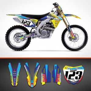 Suzuki Razor backgrounds kit