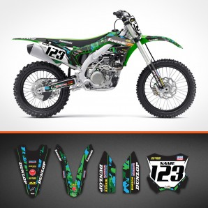 Kawasaki Camo backgrounds kit