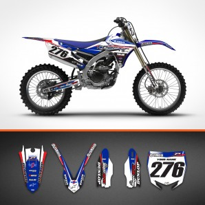yamaha Custom line backgrounds kit