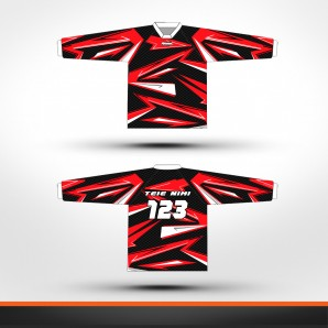 Honda carbon Racing jersey