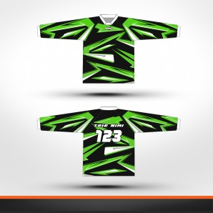 Kawasaki carbon Racing jersey