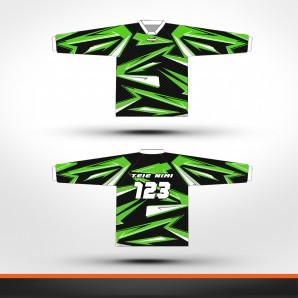 Kawasaki carbon Racing jersey