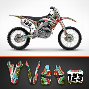 Honda nanotech backgrounds kit