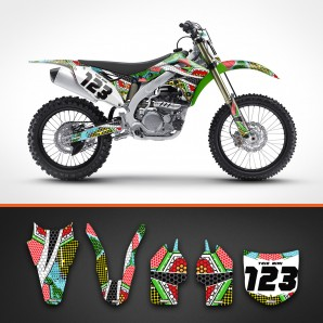 Kawasaki nanotech backgrounds kit