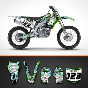 Kawasaki robots backgrounds kit