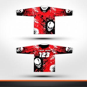 Honda skulls Racing jersey