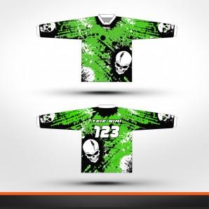 Kawasaki skulls Racing jersey