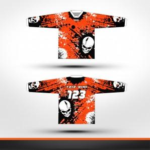 KTM skulls Racing jersey