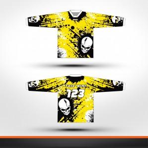 Suzuki skulls Racing jersey