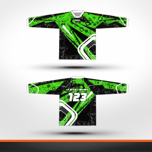 Kawasaki stripes Racing jersey