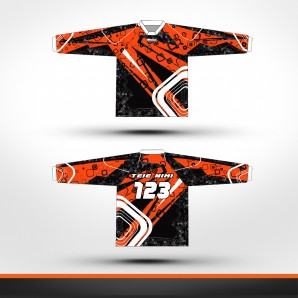 KTM stripes Racing jersey