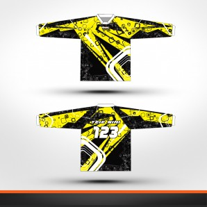 Suzuki stripes Racing jersey