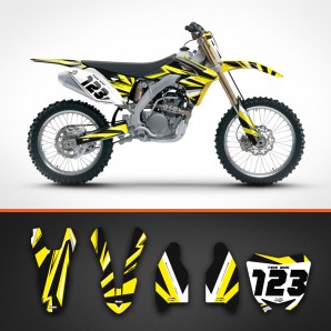 suzuki carbon backgrounds kit
