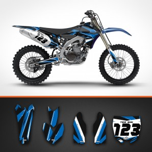 yamaha carbon backgrounds kit